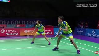 10 Badminton shots  If it was not recorded, nobody would believe