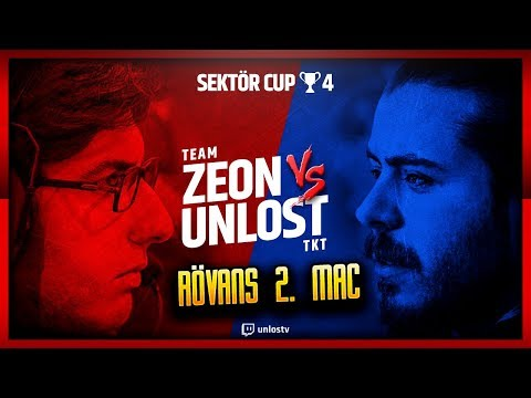 ⚽️ ZEON VS UNLOST 2. MAÇ | SEKTÖR CUP #4 🏆