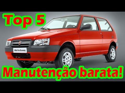 Top 5 dos Carros com a manutenção mais barata do Brasil!