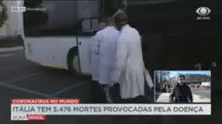 Coronavírus Itália tem mais de 5,4 mil mortes; país contará com ajuda de cubanos