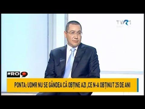 Victor Ponta, despre negocierile dintre PSD şi UDMR privind moţiunea împotriva Guvernului