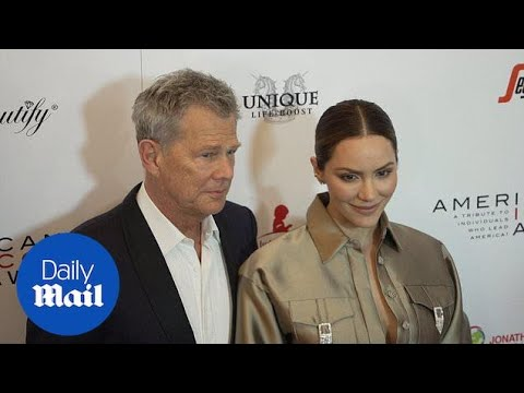 Katharine McPhee & Fiance David Foster At American Icon Awards
