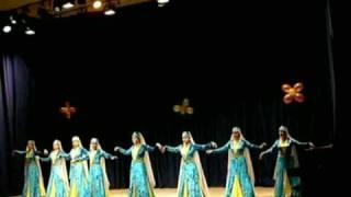Emir  Djilyal and haytarma. Dance of the Crimean Tatars,  Meridian  dance studio. Moscow