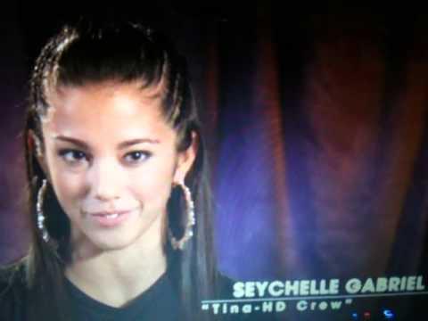 Seychelle Gabriel talks about