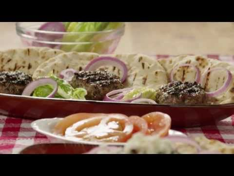 How to Make Grilled Lamb Burgers   Lamb Recipe   Allrecipes.com