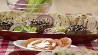 Lamb Recipe - How To Make Grilled Lamb Burgers