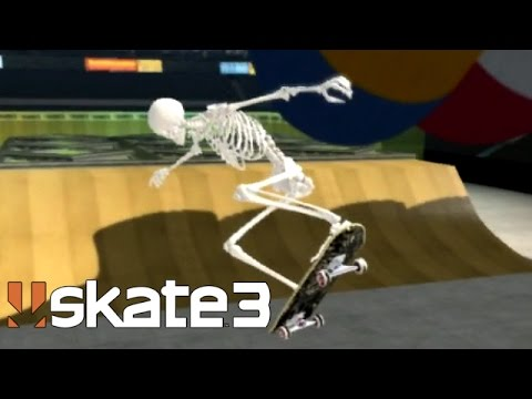 Skate 3: Bonehead [PS3 Gameplay, Commentary]