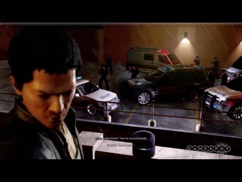 Sleeping Dogs - Running From the Cops Gameplay