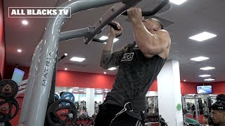 All Blacks hit the gym in South Africa