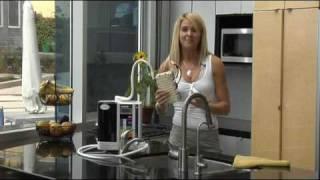 H.  Kangen Water Machine Demonstration / How it works