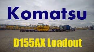 Komatsu D155AX Loadout