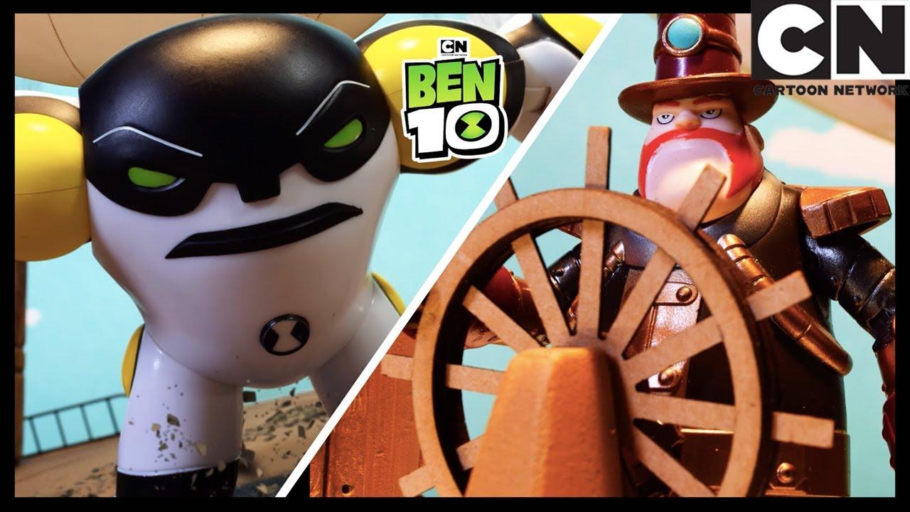 Ben 10 Toy Play | Cannonbolt Battle Recreation! | Cartoon Network