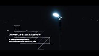 Lampy solarne z czujnikami ruchu