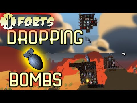 Flying Forts And Dropping Bombs!!!
