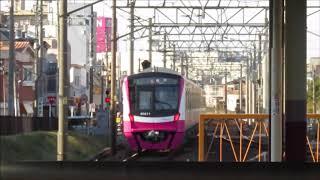 新京成80000形80016F 松戸ゆき 北習志野発車