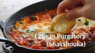Eggs in Purgatory (Shakshouka) | Cafe Yooky