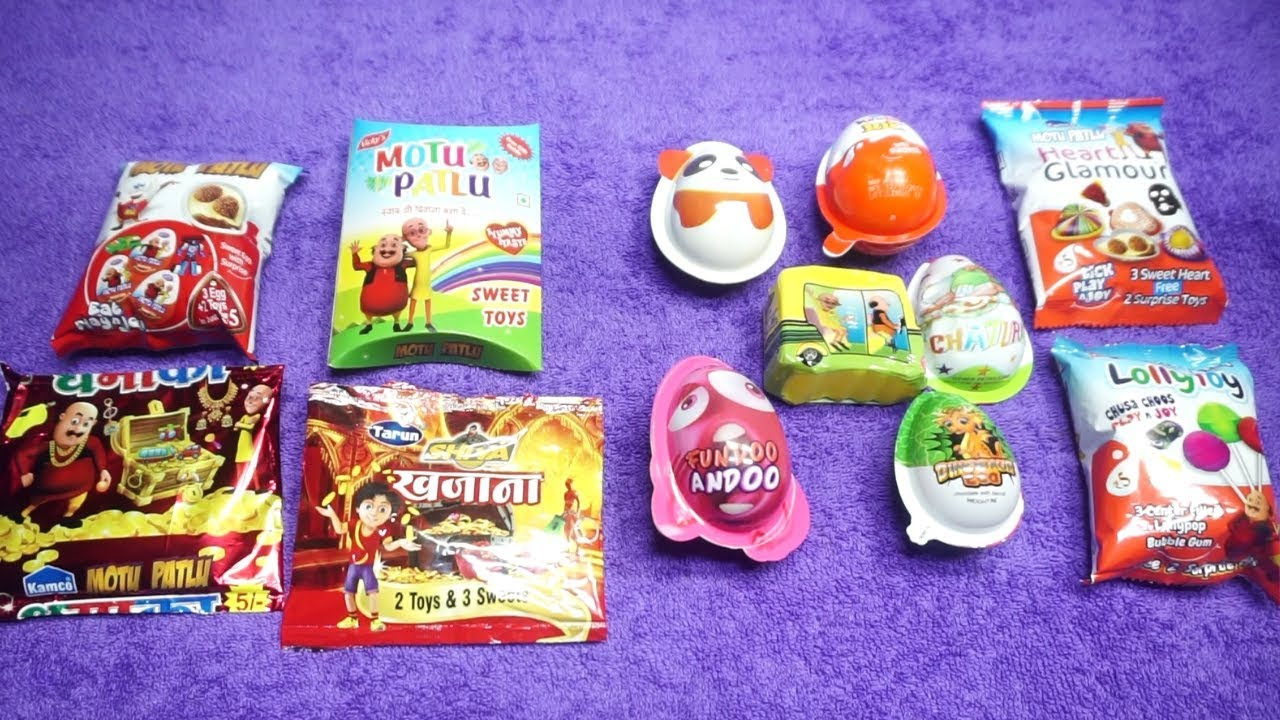 Kinder Egg Vs Kinder Joy Kinder Joy Versus Motu Patlu Children Care