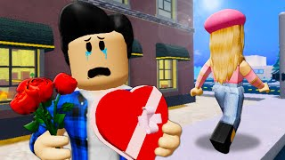 She Dumped Him On Valentine's Day! A Roblox Movie (Story)