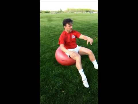 RESPONSEBALL MAX Core strength exercises