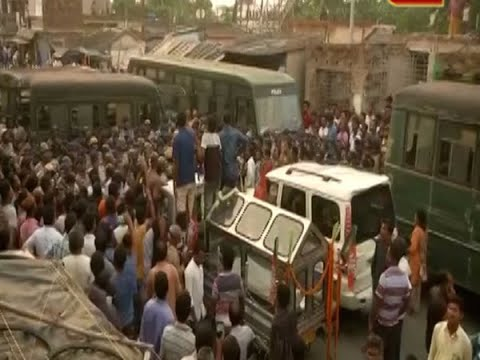 More tension in Bengal as police stops BJP procession