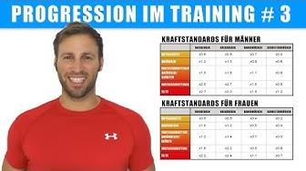 Kraftstandards – Wie stark bist du? – Progression im Training 3