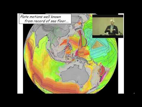 John Suppe- Sheriff Lecture- Plate Tectonics