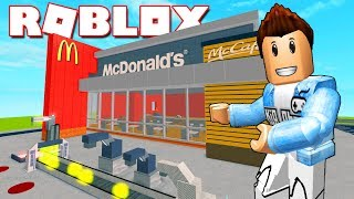 Roblox | McDonald's-McDonald's RESTAURANT CONSTRUCTION Tycoon | Kia Breaking
