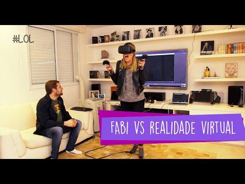 Fabi vs Realidade Virtual - com Ricky Justus