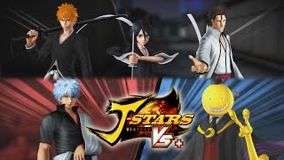 J-Stars Victory VS + English Bleach, Gintama, Assassination Classroom Gameplay Trailer