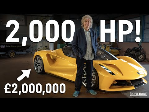 James May's first look at the 2000hp Lotus Evija
