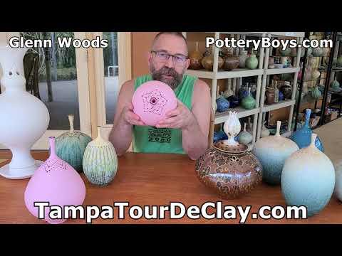 Intro to Tampa Tour De Clay artist Glenn Woods