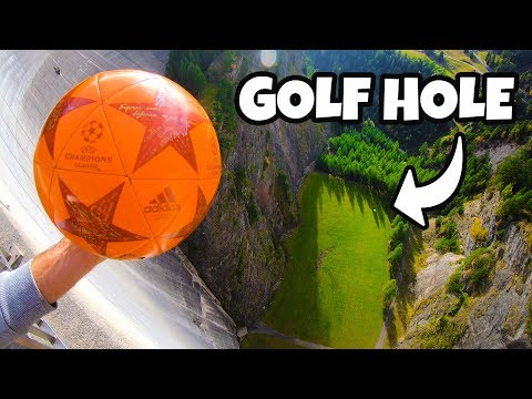 SOCCER GOLF from 165m DAM!