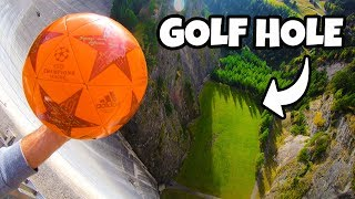 SOCCER GOLF from 165m DAM! thumbnail