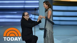 Emmys 2018: Acceptance Speech Turns Into Sweet Wedding Proposal | TODAY