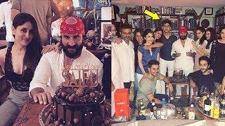 INSIDE: Saif Ali Khan Grand BIRTHDAY PARTY With Family | Kareena, Karisma, Soha Ali, Kunal Khemu
