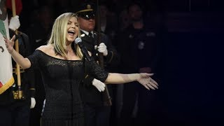 Fergie says her version of the national anthem 'didn't strike intended tone' by : ABC News