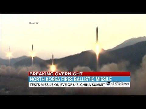 Latest North Korea Missile Test | ABC News