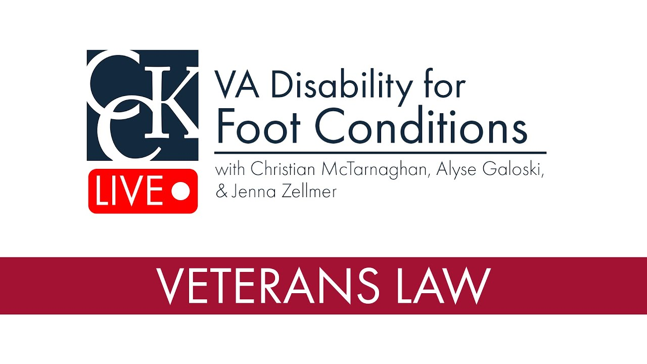 VA Disability for Foot Conditions