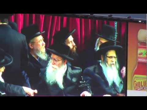Rabbi Ephraim Wachsman - Pshevorsk Rebbe - Skverer Rebbe - Jeboo Dayan at Citi Field