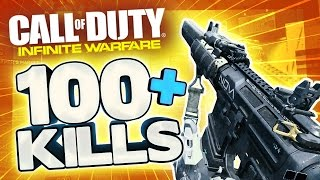 worlds first 100 game infinite warfare 133 kill multiplayer gameplay