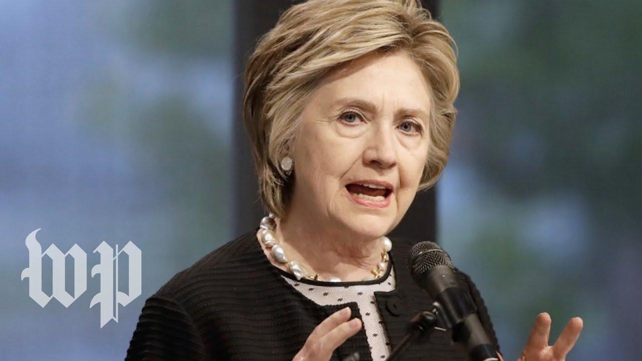 Hillary Clinton 'still considering 2020 presidential run'