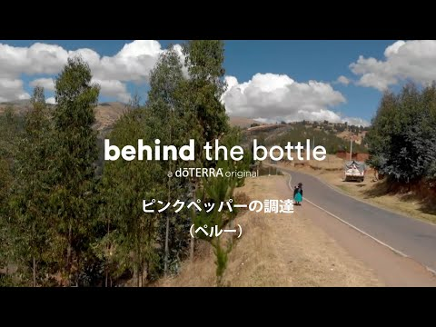 Behind the Bottle:ピンクペッパーの調達(ペルー)
