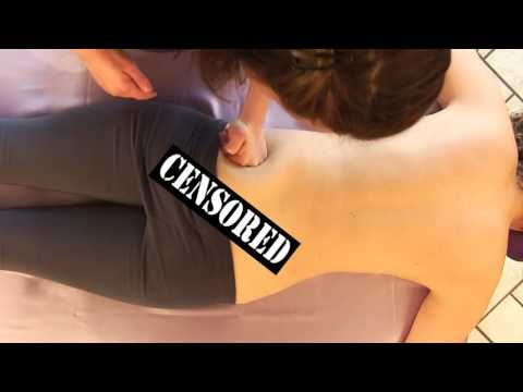 ASMR Massage Back Glute Swedish Massage Therapy How To Give A Massage For Women