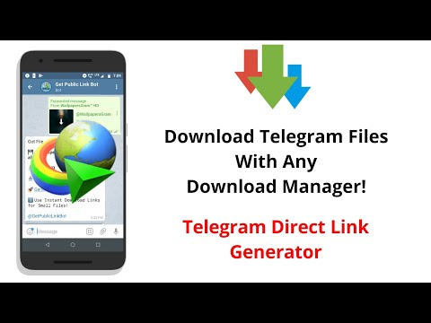 Download Telegram Files Using Third-Party Download Manager