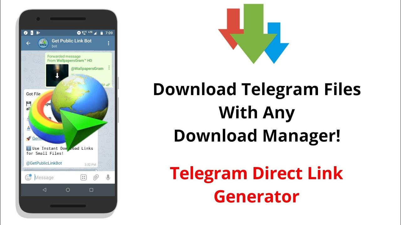 Download Telegram Files Using Third-Party Download Manager | Telegram  External Link Generator