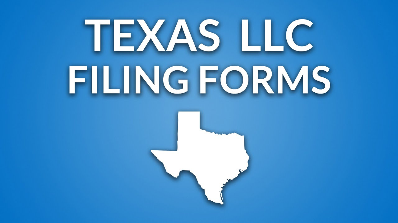 Texas LLC - Formation Documents - YouTube