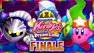 Kirby Returns to Dreamland - Part 8 FINALE - Co Op FINAL BOSS (1080p 60FPS)