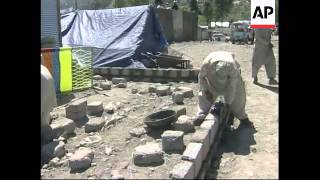 Earthquake survivors try to rebuild lives six months after disaster