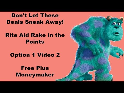 Rite Aid Rake in the Points, Option 1 Video 2 Free MM