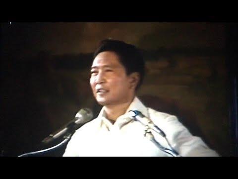 President Marcos at Maharlika Hall Malacañan Palace